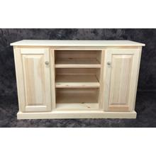 Maine Made 48 Plasma Stand 48W X 30H X 18D Pine Unfinished