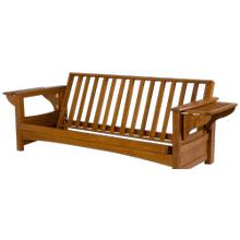 See Details - Burlington - Solid Oak Futon Frame