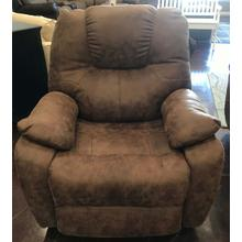 Brown Power Rocker Recliner