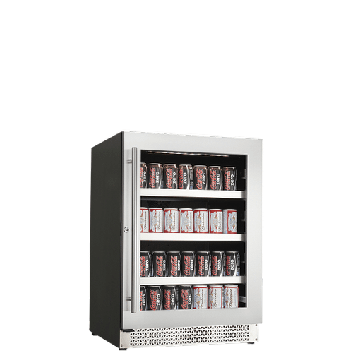 Vinoa Collection - Built-In/Freestanding Beverage Center - 5.0 PI Capacity - Single Zone