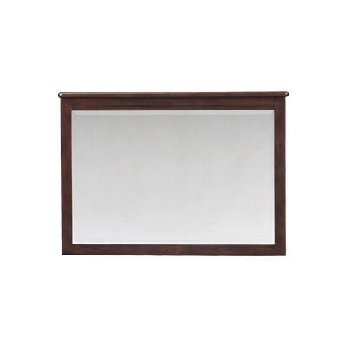 CAF Pacific Beveled Mirror Caffe Finish