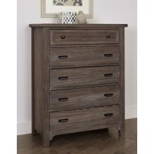 CLEARANCE Bungalow 5 Drawer Chest