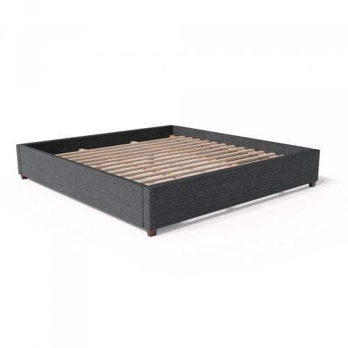 Malouf - Charcoal Queen Eastman Platform Bed Base
