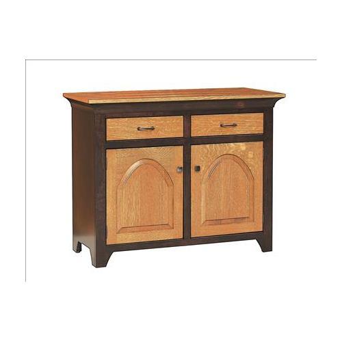 Amish Furniture - Kowan Hutch & Buffet