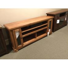 LIGHT OAK ENTERTAINMENT STAND