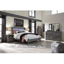 Baystorm - Queen Panel Bed, Dresser, Mirror, 1 X Nightstand