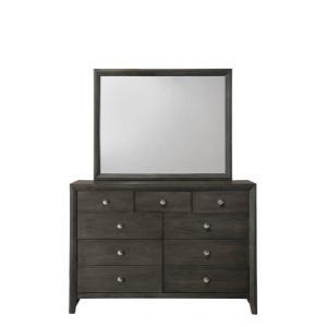 Packages - CrownMark 4 Pc Queen Bedroom Set, Gray Evan B4720