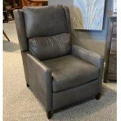 Leather, Power Recliner W Articulating Headrest Woodlands Narrow Track Arm Recliner
