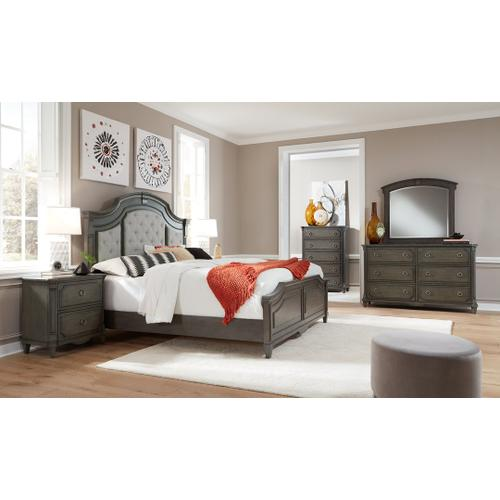 Carnaby Charcoal Gray King Bedroom Set