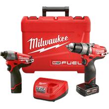 Milwaukee M12 Fuel 2 Tool Combo Kit