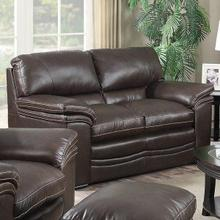 Mitchell Leather Loveseat