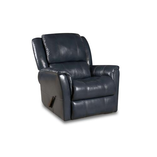 188-93-62  Swivel Glide Recliner - Ocean