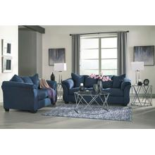 Darcy- Blue Sofa and Loveseat