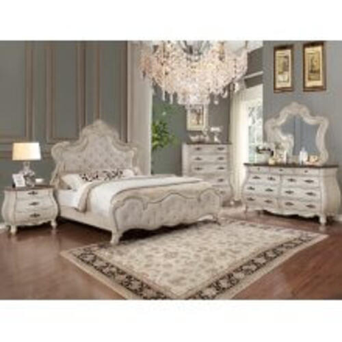 Ashford Qn Bed, Dresser, Mirror, Chest and Nightstand