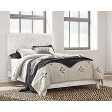 Paxberry- Whitewash- Queen Panel Bed