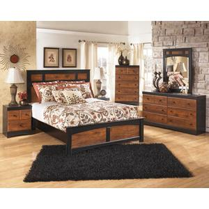 Aimwell Qn Bed, Dresser, Mirror and Nightstand