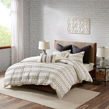 Rhea Cotton Jacquard Full/Queen Comforter Mini Set
