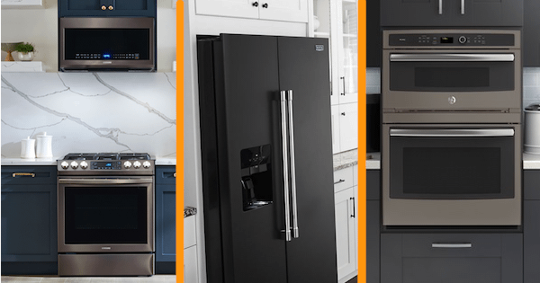 2021 Appliance Color Options - Black Stainless, Black Slate, & More!