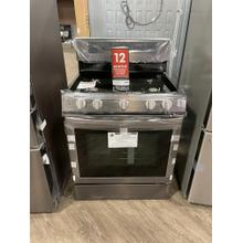 ***WEST LOCATION*** 5.8 cu. ft. Freestanding Gas Range with True Convection in Tuscan Stainless Steel **DENT ON BOTTOM DRAWER**