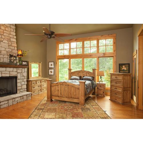 Rustic Mansion Queen-Size Bedroom Set