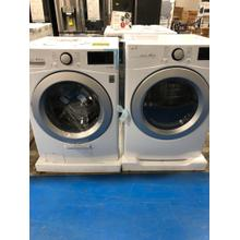 4.5 cu. ft. Ultra Large Smart wi-fi Enabled Front Load Washer AND 7.4 cu. ft. Ultra Large Capacity Smart Wi-fi Enabled Electric Dryer SET**OPEN BOX** West Des Moines Location