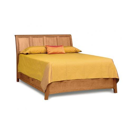 SARAH SLEIGH BED WITH STORAGE IN CHERRY