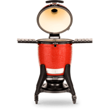 See Details - KAMADO JOE CLASSIC III RED CERAMIC GRILL