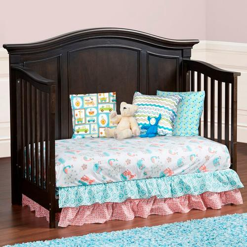 Glendale 4-in-1 Convertible Crib - Charcoal Brown