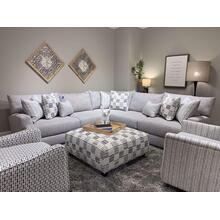 Entice Paver 4 Piece Sectional