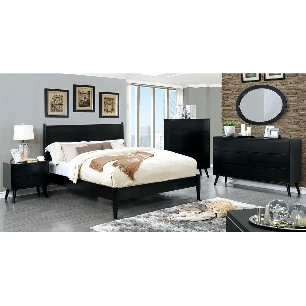 See Details - Lennart II 4Pc Queen Bed Set