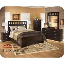 Ashley B117 X-cess Bedroom set Houston Texas USA Aztec Furniture