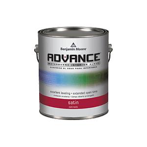 ADVANCE Waterborne Interior Alkyd Paint - Satin Finish