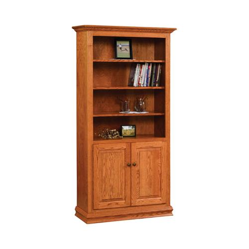Traditional Bookcase with Doors