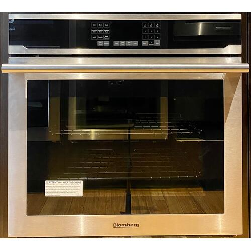 """Product Image - Blomberg BWOS30200    30"""" Single Wall Oven, self clean, cool touch glass, stainless"""