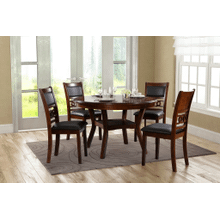 5PC CHARLOTTE DINING CHERRY SET