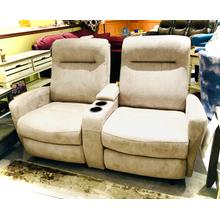 COSTILLA  Power Reclining Loveseat in Nickel       (L230RQ4-24103,44970)