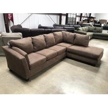 """See Details - Sectional """"Glacier Brown"""""""
