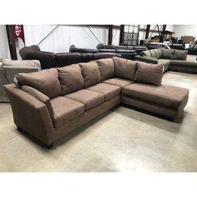 """Sectional """"Glacier Brown"""""""