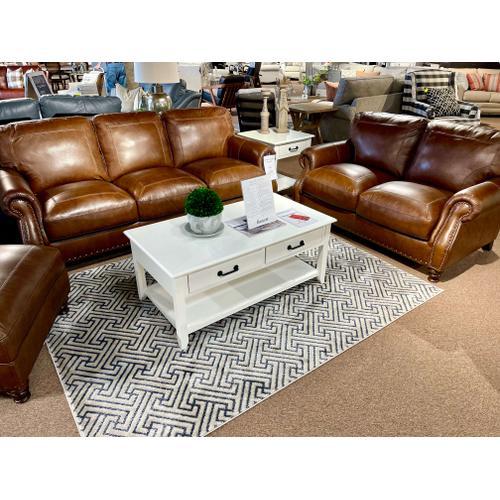 Simon Li Furniture - Amarillo Bramble Leather Sofa & Loveseat