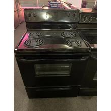 Frigidaire 30'' Freestanding Electric Range (This may be a Stock Photo, actual unit (s) appearance may contain cosmetic blemishes. Please call store if you would like additional pictures). This unit carries our 6 Month warranty, MANUFACTURER WARRANTY and REBATE NOT VALID with this item. ISI 36396