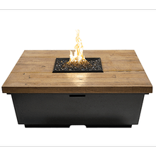 Contempo Square Firetable French Barrel Oak