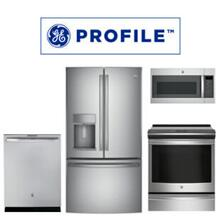 GE Profile 4 Piece Kitchen Package. Price Valid Thru 10/31/20.