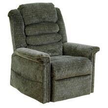 Woodland Soother Pow'r Lift Full Lay-Out Chaise Recliner with Heat & Massage