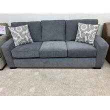 Stanton 37501 Sofa / 95L x 39H x 37D . Clint Granite / Ashbury Pewter / Espresso Leg