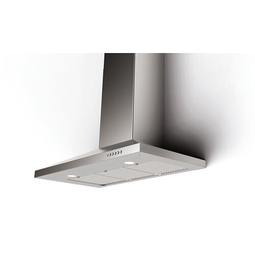 Faber DAMA36SS600 Stainless Steel Canopy Wall Range Hood,600 CFM Motor, 36-Inch