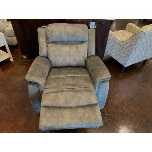 Klaussner - Grey Fabric Recliner