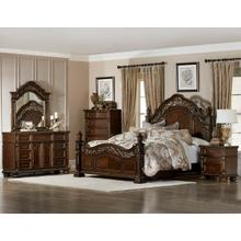 Catalonia Qn Bed, Dresser, Mirror and Nightstand