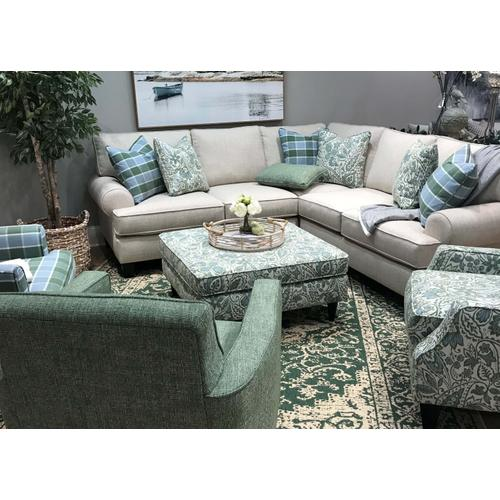 BN4221L/R/15KP  Sectional and Chair - Baja Natural