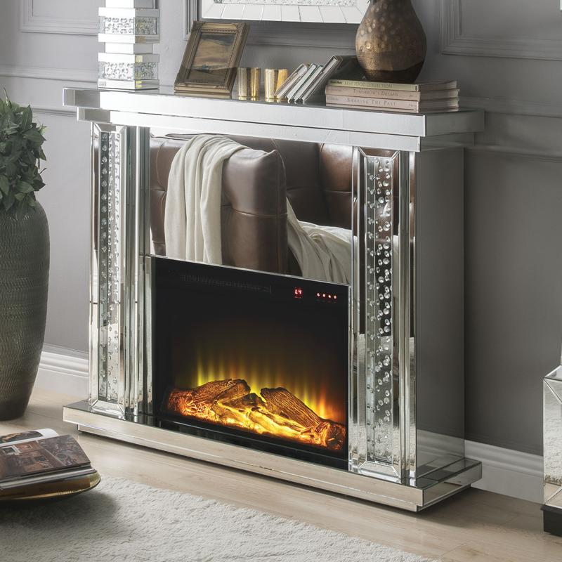 View Product - Nysa Glam Fireplace