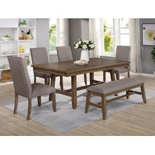 Crown Mark 2231 Manning 7PC Dining Table